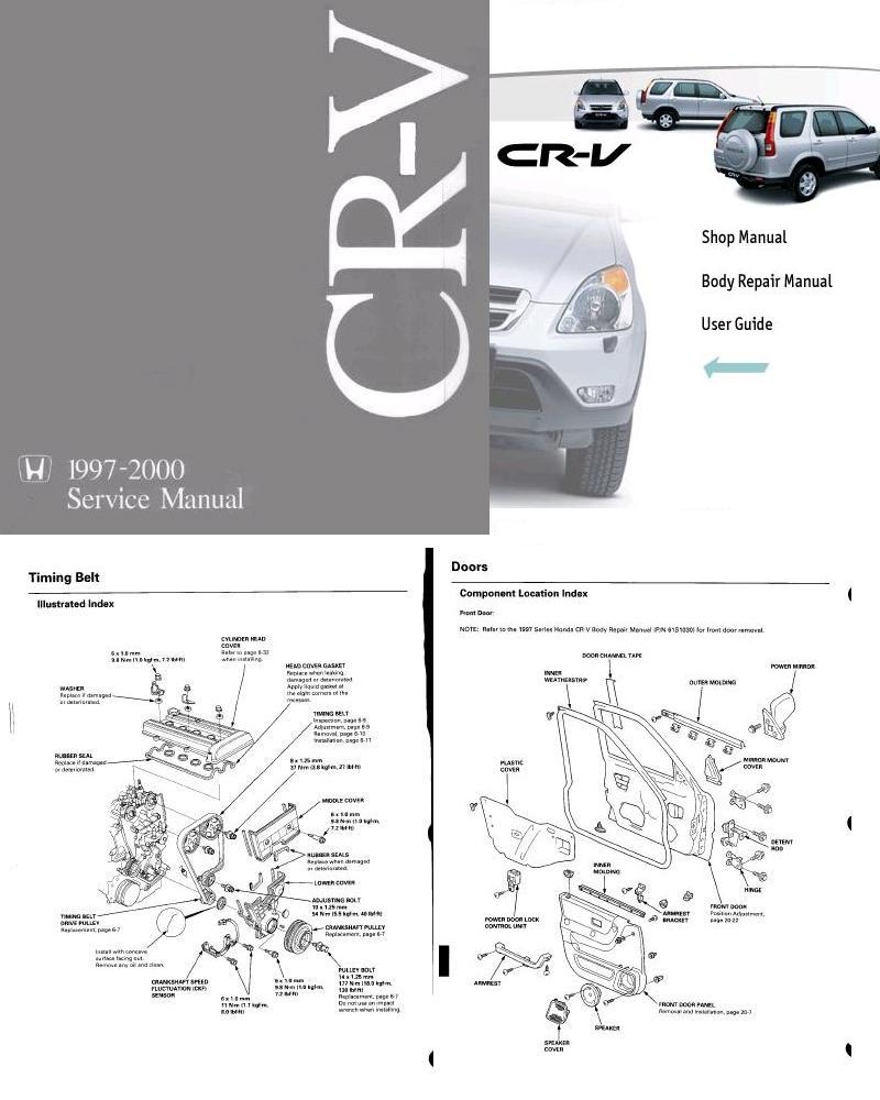 Repair Manual Honda Cr V Shop Manual And Body Repair
